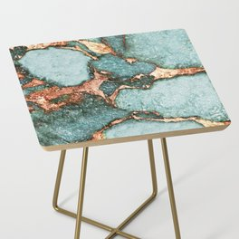 GEMSTONE & GOLD NEW MINT Side Table