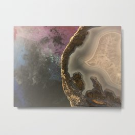 Galaxy Rock Metal Print