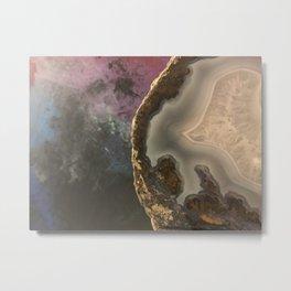 Galaxy Rock Metal Print