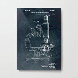 1943 - Microscope Metal Print