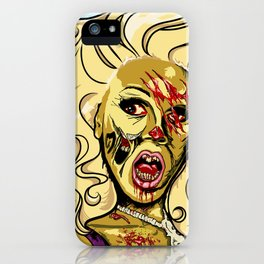 Zombie RuPaul iPhone Case