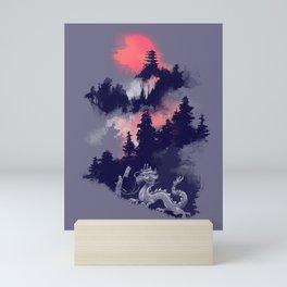 Samurai's life Mini Art Print