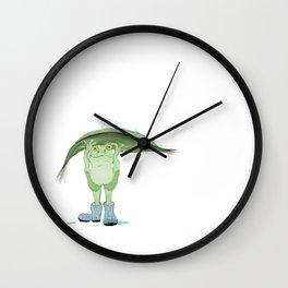 Rain Frog Wall Clock