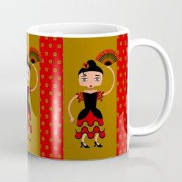 Spanish Flamengo Dancer Coffee Mug