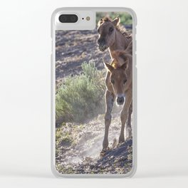 The Wild Foals Clear iPhone Case