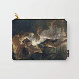 The Storm By Pierre Auguste Cot Carry-All Pouch