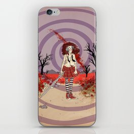 Fiona in the Poppies iPhone Skin