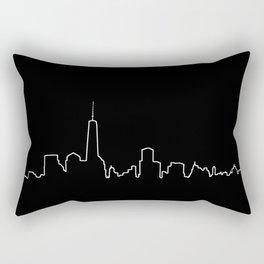 New York Life Line Rectangular Pillow