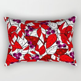 Retro . Bright colorful pattern . Rectangular Pillow