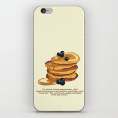 Fluffy Pancakes iPhone & iPod Skin
