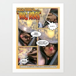 Glidertales Issue 1 - 1 of 2 Art Print