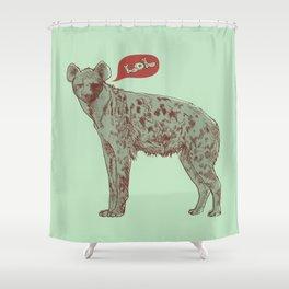 LOL (mint) Shower Curtain