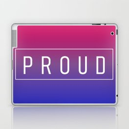 Bisexual Flag v2 - Pride Laptop & iPad Skin