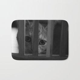 Who Lurks Under The Table? Bath Mat