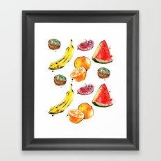 Fruits 2 Framed Art Print