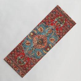 Bidjar Antique Kurdish Northwest Persian Rug Print Yoga Mat