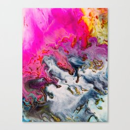 Abstract Melt XII Canvas Print