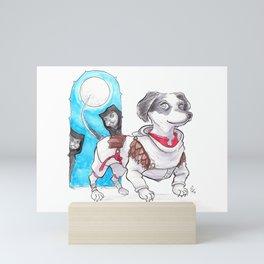 DogDays19 Wylie Mini Art Print