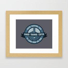 Go Pro! Framed Art Print
