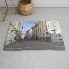 Streets of Tallinn Estonia Rug