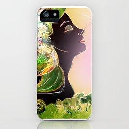 Caballos galopan iPhone Case