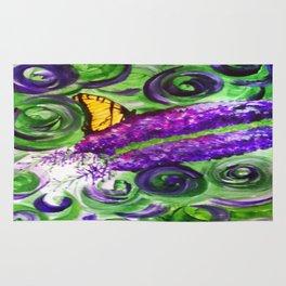 Butterfly Bush Rug