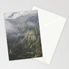 Mountains - Kauai, HI Stationery Cards