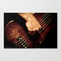 bass Canvas Prints featuring BASS  by Vishesh