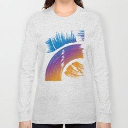 paint strokes Long Sleeve T-shirt