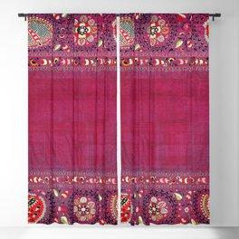 Shakhrisyabz  Southwest Uzbekistan Suzani Embroidery Print Blackout Curtain