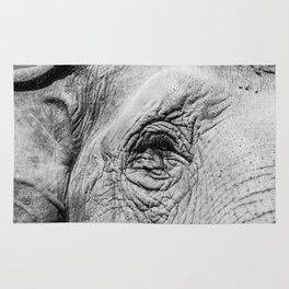 The eye of the Elephant Rug