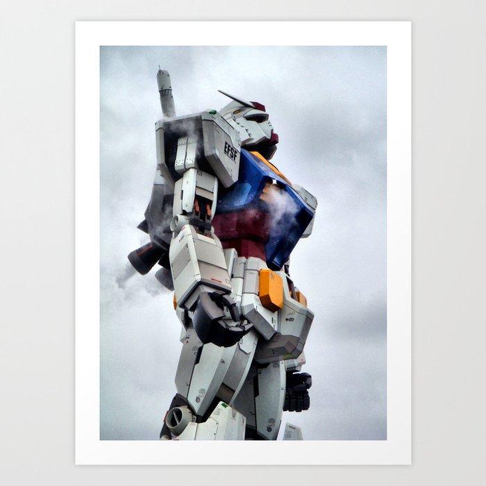 Gundam Pride Art Print