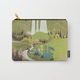 Kravica Waterfalls Carry-All Pouch