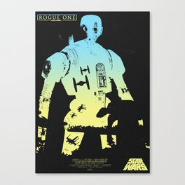 Rogue One Concept Poster Canvas Print