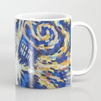 dr who Mugs featuring Dr Who by giftstore2u
