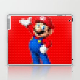 Mario - Toy Building Bricks Laptop & iPad Skin