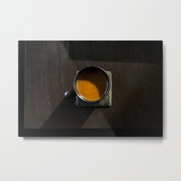 Morning Cup of Joe Metal Print