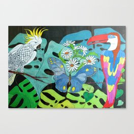 Insieme con Allegria (Together with Happiness) Canvas Print