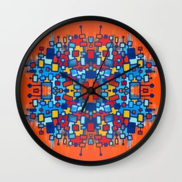 La Famille Multiplied Wall Clock