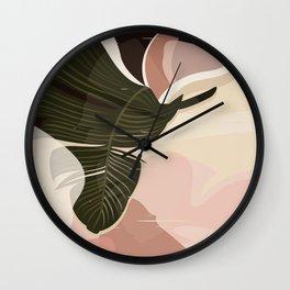 Nomade I. Illustration Wall Clock
