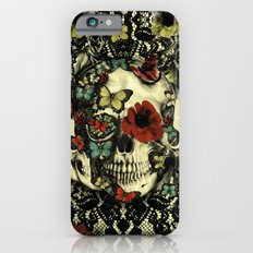 Vintage Gothic Lace Skull Slim Case iPhone 6