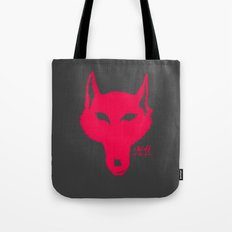 A Wolf at the door Tote Bag
