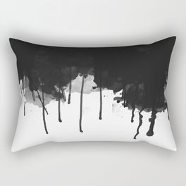 Spilled Ink Rectangular Pillow