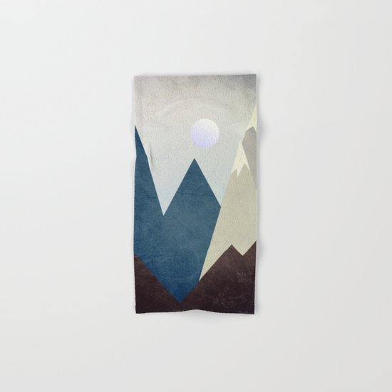 The Moon Over The Mountains Hand & Bath Towel