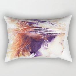 Craving for serenity Rectangular Pillow