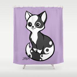 Yinyang Sister: Tux Shower Curtain
