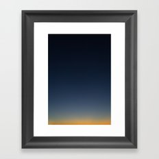 Sky III Framed Art Print