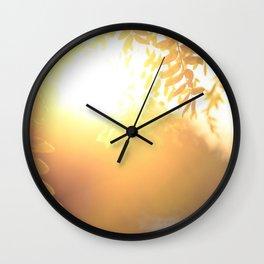 Sun Soak Wall Clock