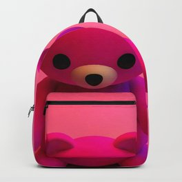 Pink Little Bear Backpack