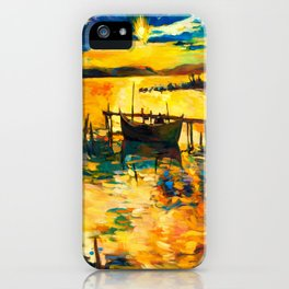 Boat iPhone Case
